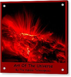 The Art Of The Universe 307 Acrylic Print by The Hubble Telescope