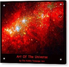 The Art Of The Universe 309 Acrylic Print by The Hubble Telescope