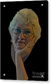 The Artist By Ante Barisic Acrylic Print by Sharon Burger
