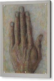 The Artist Hand Acrylic Print