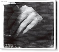 The Artists Hand Acrylic Print