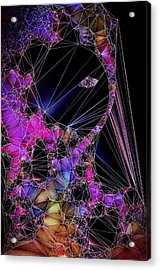 The Artists Soul Acrylic Print by Susan Maxwell Schmidt