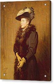 The Artists Wife, 1893 Acrylic Print