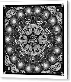 Mandalart Acrylic Print