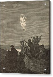 The Ascension Acrylic Print by Antique Engravings