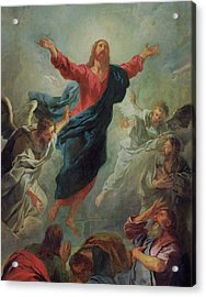 The Ascension Acrylic Print by Jean Francois de Troy