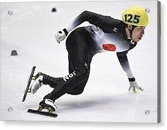 The Asian Winter Games 2017 - Day 4 Acrylic Print by Matt Roberts