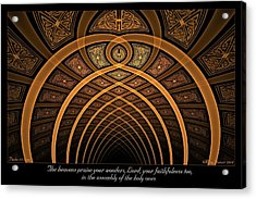 The Assembly Acrylic Print