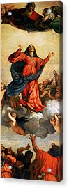 The Assumption Of The Virgin Acrylic Print by Titian