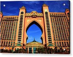 The Atlantis Acrylic Print by Farah Faizal