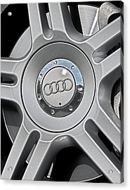 The Audi Wheel Acrylic Print