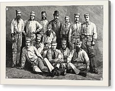 The Australian Cricket Team Acrylic Print by Australian School
