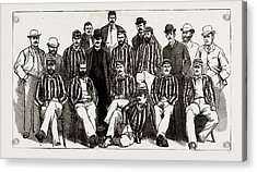 The Australian Cricket Team Now Visiting England H.j.h Acrylic Print by Litz Collection