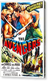 The Avengers, Us Poster, Kissing Acrylic Print by Everett
