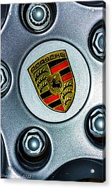 The Badge Acrylic Print