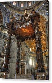 The Baldaccino Of Bernini Acrylic Print