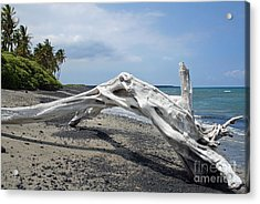 The Bali House View Acrylic Print by Bob Hislop