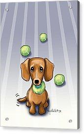 The Ball Catcher Acrylic Print