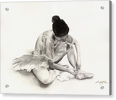 The Ballet Dancer Acrylic Print