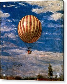 The Balloon Acrylic Print by Pal Szinyei Merse