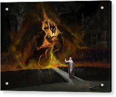 The Balrog Acrylic Print