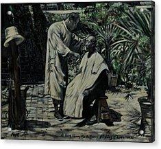 The Barber Of Peking Acrylic Print