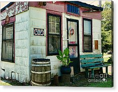 The Barber Shop From A Different Era Acrylic Print