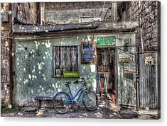 The Barber Shop Acrylic Print