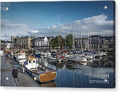 The Barbican Plymouth Devon Acrylic Print by Donald Davis