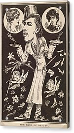 The Bard Of Beauty Acrylic Print by British Library