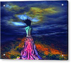 The Bareback Duchess Acrylic Print by Tyler Robbins