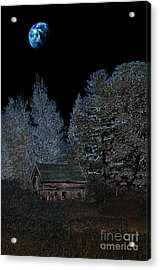 The Barn At Haumerklien  Acrylic Print by The Stone Age