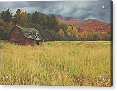 The Barn Acrylic Print by Carrie Ann Grippo-Pike