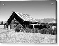 The Barn Acrylic Print by Glenn McCarthy Art and Photography