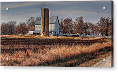 The Barn On The Hill Acrylic Print