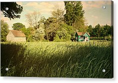 The Barn Acrylic Print by Stephen Norris