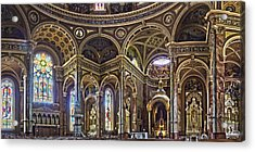 The Basilica Of St. Josaphat Acrylic Print