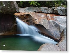 The Basin Acrylic Print by Mike Farslow