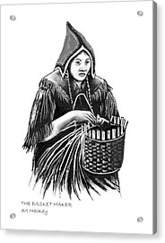 The Basket Maker Acrylic Print