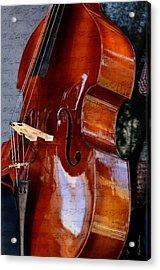The Bass Of Music Acrylic Print by Kae Cheatham