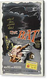 The Bat Acrylic Print by MMG Archives