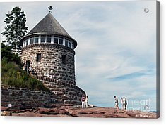 The Bath House On Ministers Island Nb Acrylic Print
