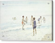 The Bathers Acrylic Print by Edward van Goethem