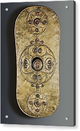 The Battersea Shield. 350 -50 Bc Acrylic Print by Everett