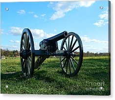 Acrylic Print featuring the photograph The Battle Is Over - Gettysburg by Emmy Marie Vickers
