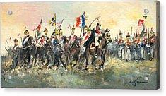 The Battle Of Austerlitz Acrylic Print