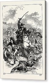 The Battle Of Buena Vista, Also Known As The Battle Acrylic Print