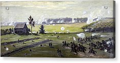 the Battle of Gettysburg Acrylic Print