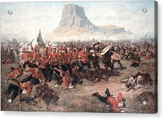 The Battle Of Isandlwana The Last Stand Acrylic Print