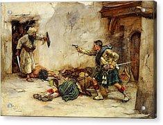 The Battle Of Kandahar Acrylic Print
